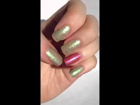 Photo of Mrs. P's Nail Potions – Spring Fling (with OPI DS Reserve accent nail)