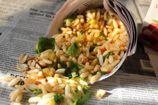Jhal muri the most popular snack in Bangladesh