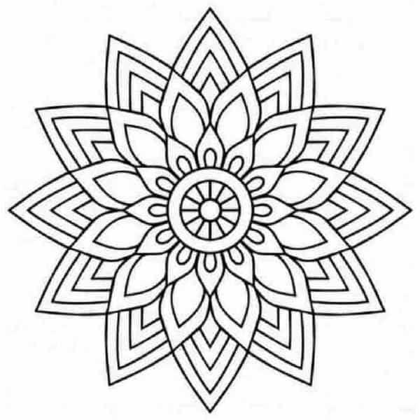 Mas De 100 Mandalas Para Pintar Y Colorear Listos Para Imprimir Mandalas10 Com Ar Mandalas Para Colorear Mandala Sencilla Mandalas