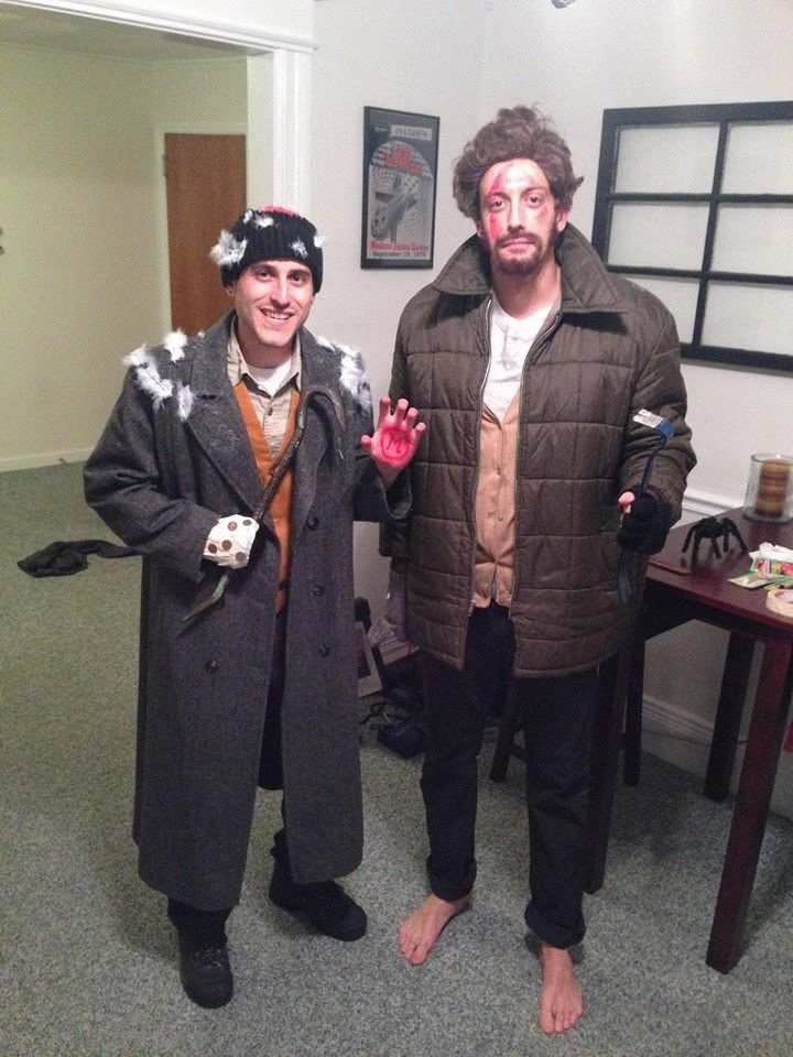 Merv And Harry Home Alone Christmas Character