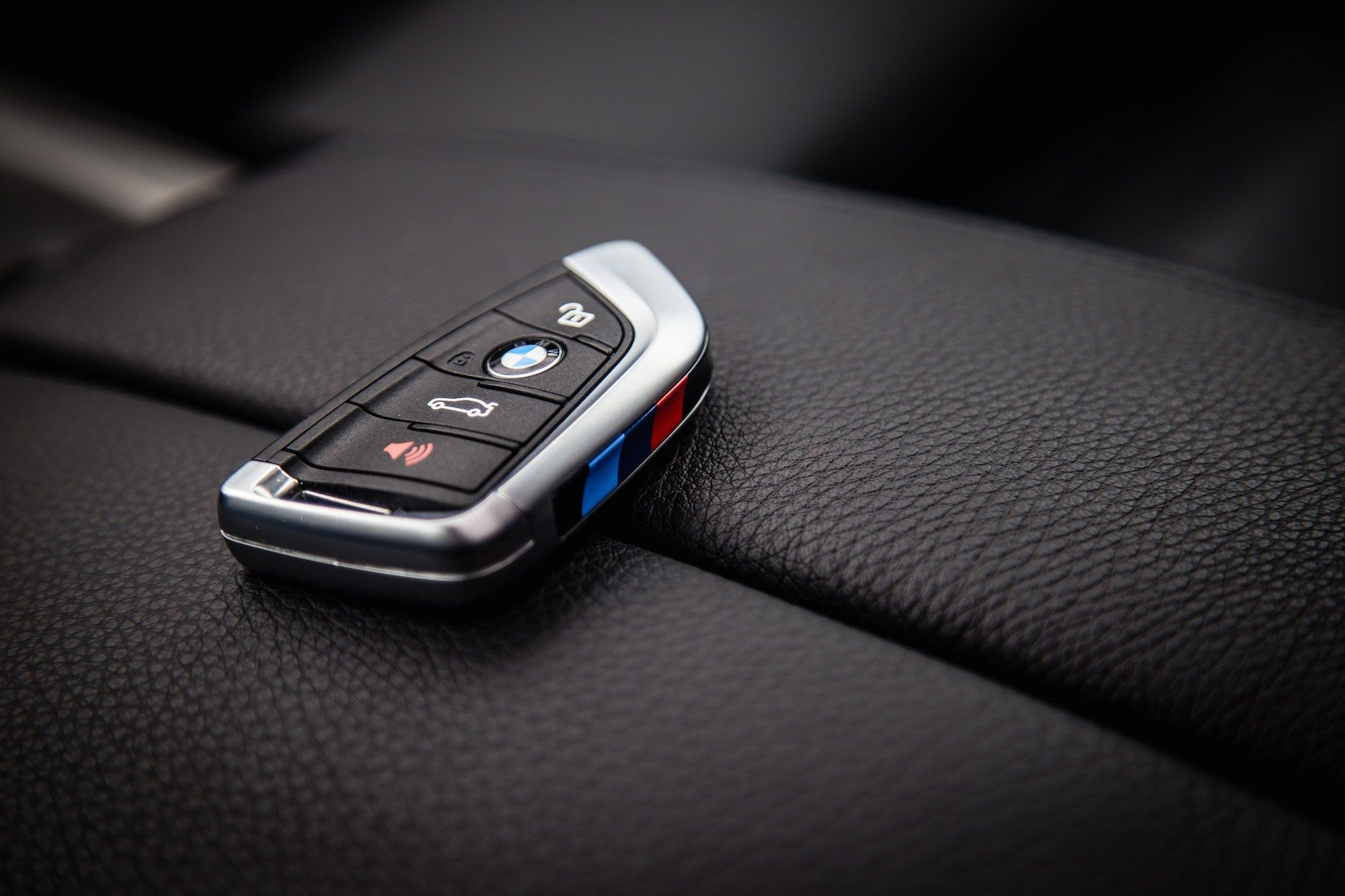 BMW 4 Button Smart Key Silicone Key Fob Remote Protective Cover