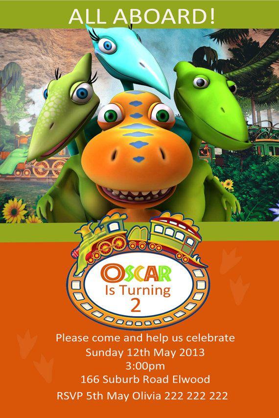 Dinosaur Train Party Birthday Dino Trains 4th