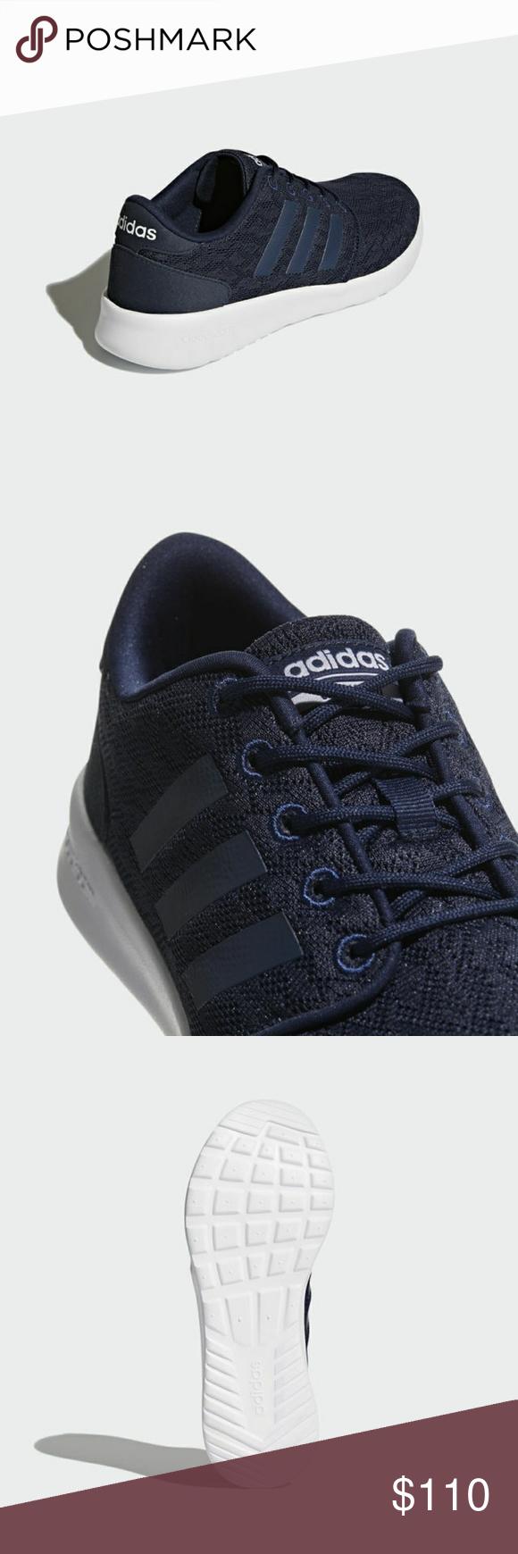 🔸Price Firm🔸 Adidas CLOUDFOAM QT RACER BB9846 CLOUDFOAM QT RACER SHOES  Slim and sleek 188c0096e