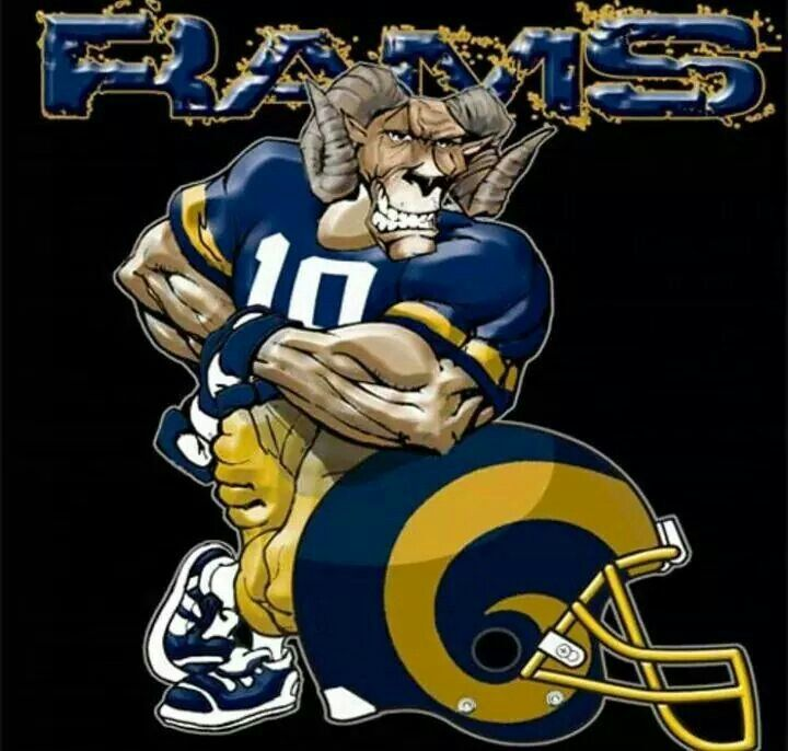 Rams 4 Life Los Angeles Rams Pinterest La Rams And