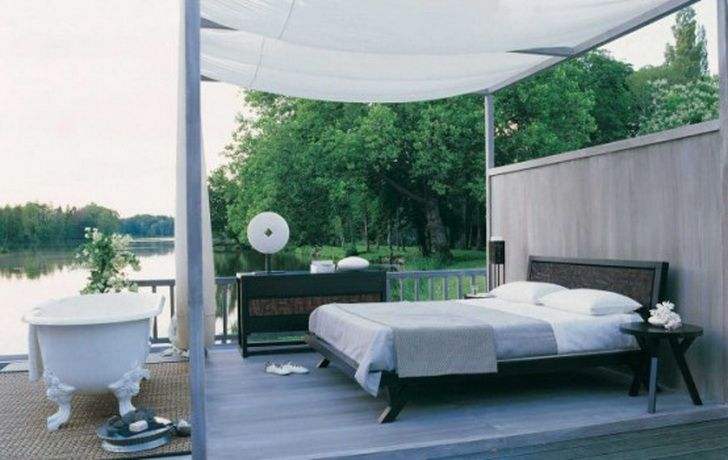 outdoor bedroom decor | Decorating Luxury Master Bedroom - Bedroom Decorating Design Ideas