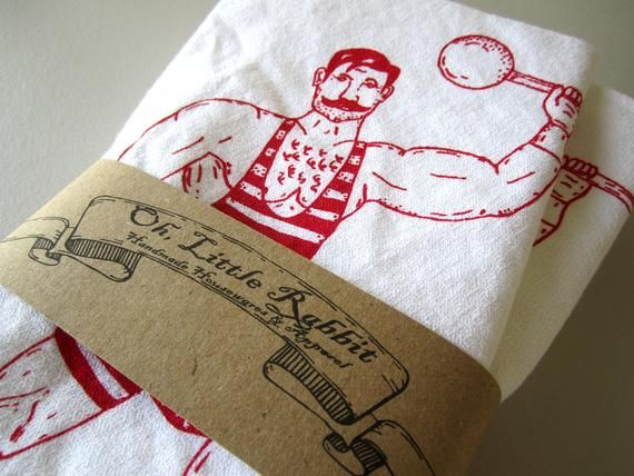 Cloth Napkins - Screen Printed Cloth Napkins - Eco Friendly Cotton Cloth Napkins - Vintage Circus St #clothnapkins