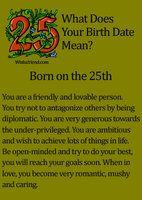 birth date...