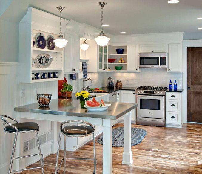 Layouts, die die Vorteile einer Küche Halbinsel zeigen #einer ...
