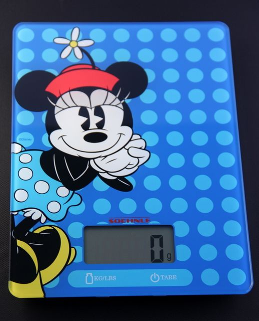 My Disney Kitchen: The Digital Kitchen Scale Made Of Glass In A Trendy Minnie