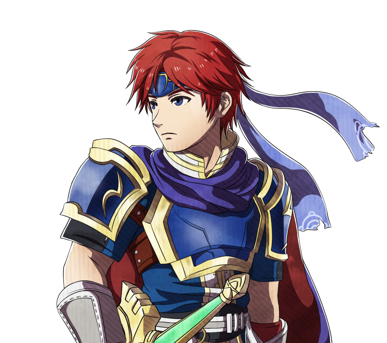 I found this tumblr art of Roy while browsing  Fates Roy