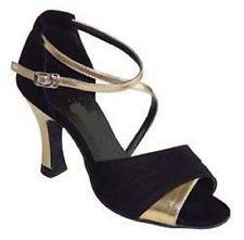 Ladies Dance Shoes Ballroom Latin Salsa UK Size 3 3.5 4 4.5 5 5.5 6 6.5 7 7.5 8