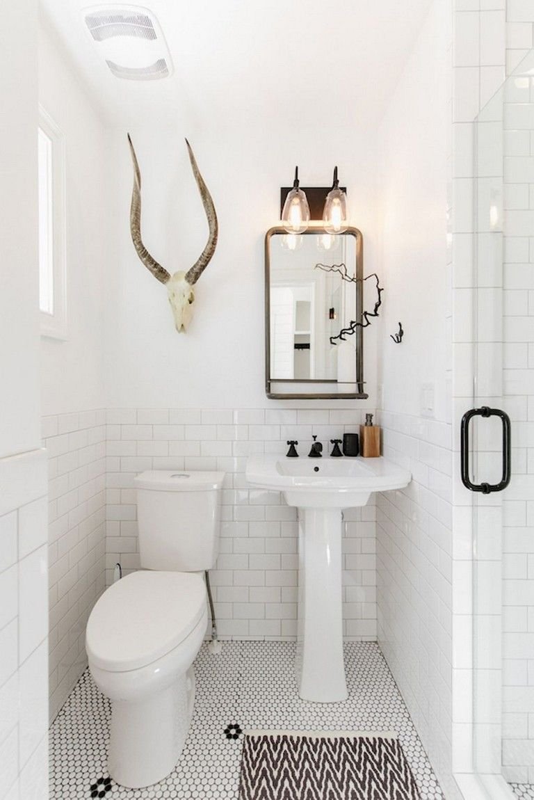 Stunning Modern Farmhouse Master Bathroom Remodel Ideas