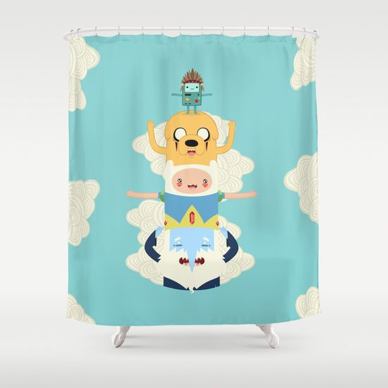 Adventure Time shower curtain. $68
