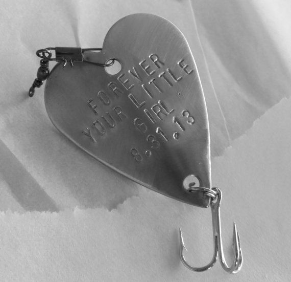 Forever Your Little Father Of The Bride Engraved Daughter Gift Sentimental Wedding Day Dad Handstamped Heart Personalized Inlaw