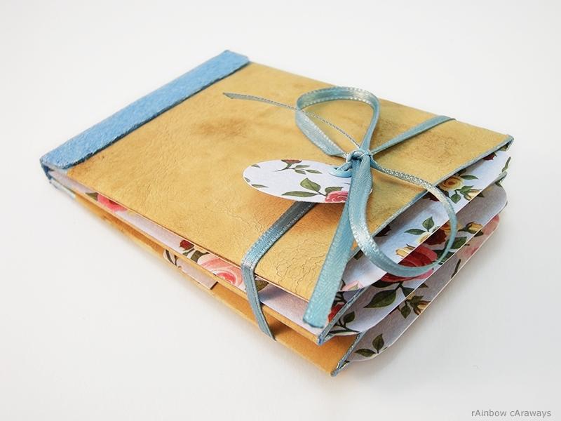 Gutscheine - Gutschein Geldgeschenk Vintage Album Hellblau  - ein Designerstück von rainbowcaraways bei DaWanda