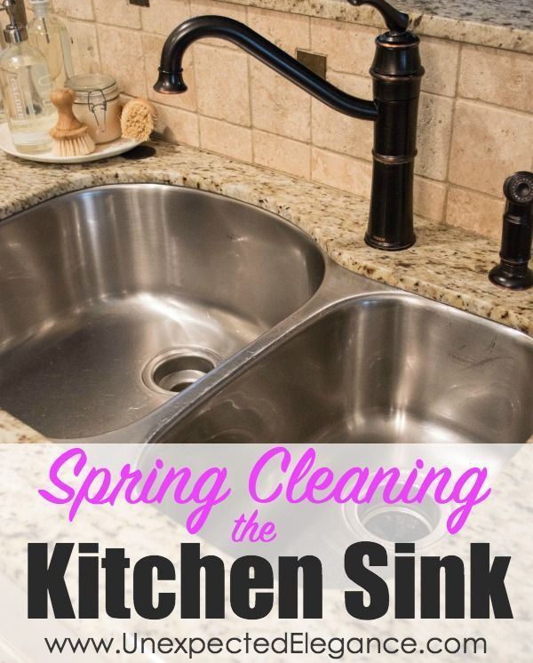 and Repair One of the hardest working areas in my house (and probably yours) is my kitchen...more specifically my kitchen sink!  Get some great tips for Spring Cleaning the kitchen sink! {Including how to replace that old, yucky caulk!!}One of the hardest working areas in my house (and probably yours) is my kitchen...more specifically my ...Cl