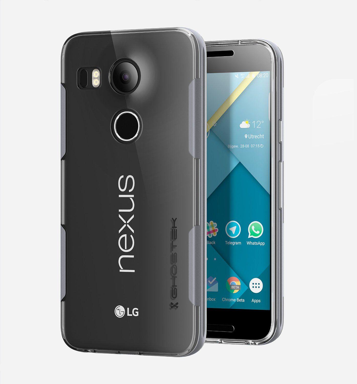 LG Nexus 5X Case, Ghostek® Cloak Series Silver for LG ...