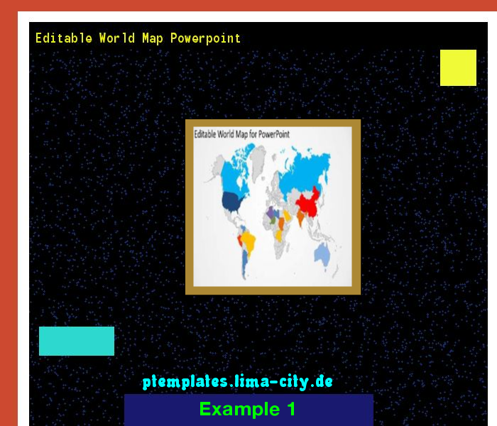 Editable World Map Powerpoint Powerpoint Templates 13557 The