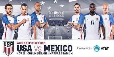 USA MENS SOCCER US VS MEXICO WORLD CUP QUALIFIER 1 TICKET 11/11 COLUMBUS OHIO https://t.co/vSN1ivMLwJ https://t.co/ja9z7lFsBV