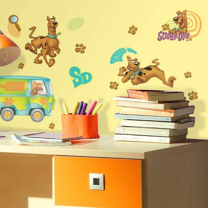 Roommates Scooby-Doo Peel & Stick Wall Decals #decoration #stickers ...