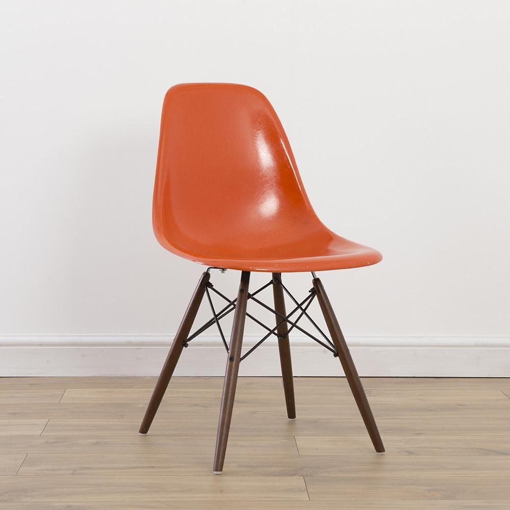 Image Result For Orange Eames Chair Fiberglass