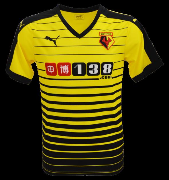 New Watford Home Kit 15-16- Watford FC Puma Jersey 2015-2016 ... 1c90cb83b