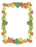 Fall theme printable activity pages for preschool, pre-K  and Kindergarten children and teachers.