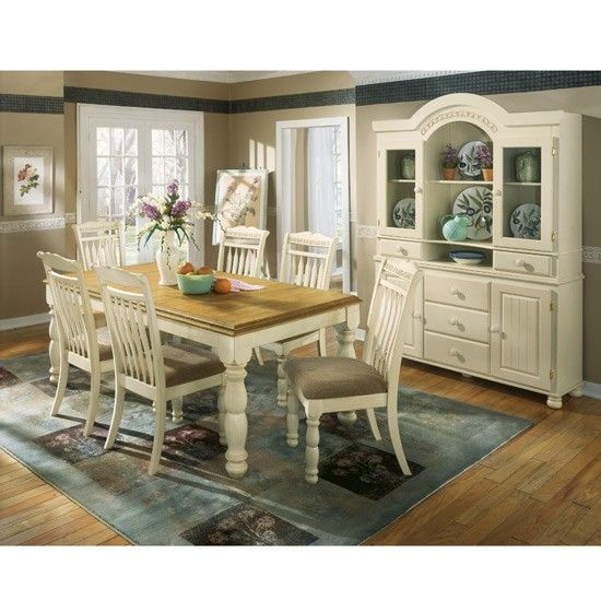 Cottage Retreat Dining Room Set By, Ashley Furniture Dining Table And Chairs