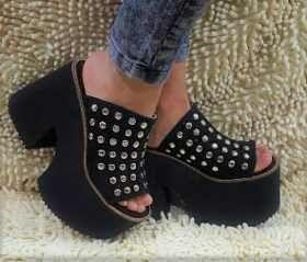 40a3f51f572 Zapatos Sandalias Mujer Flecos Laterales Pretemporada 2018 -   999 ...