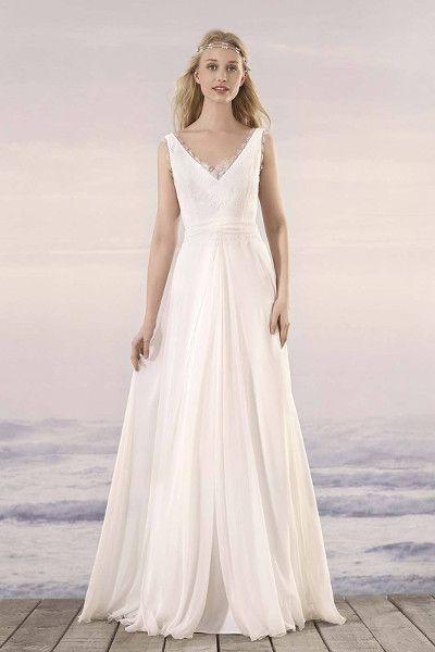 Trendige, schlichte Brautkleider für die moderne und dynamische ...