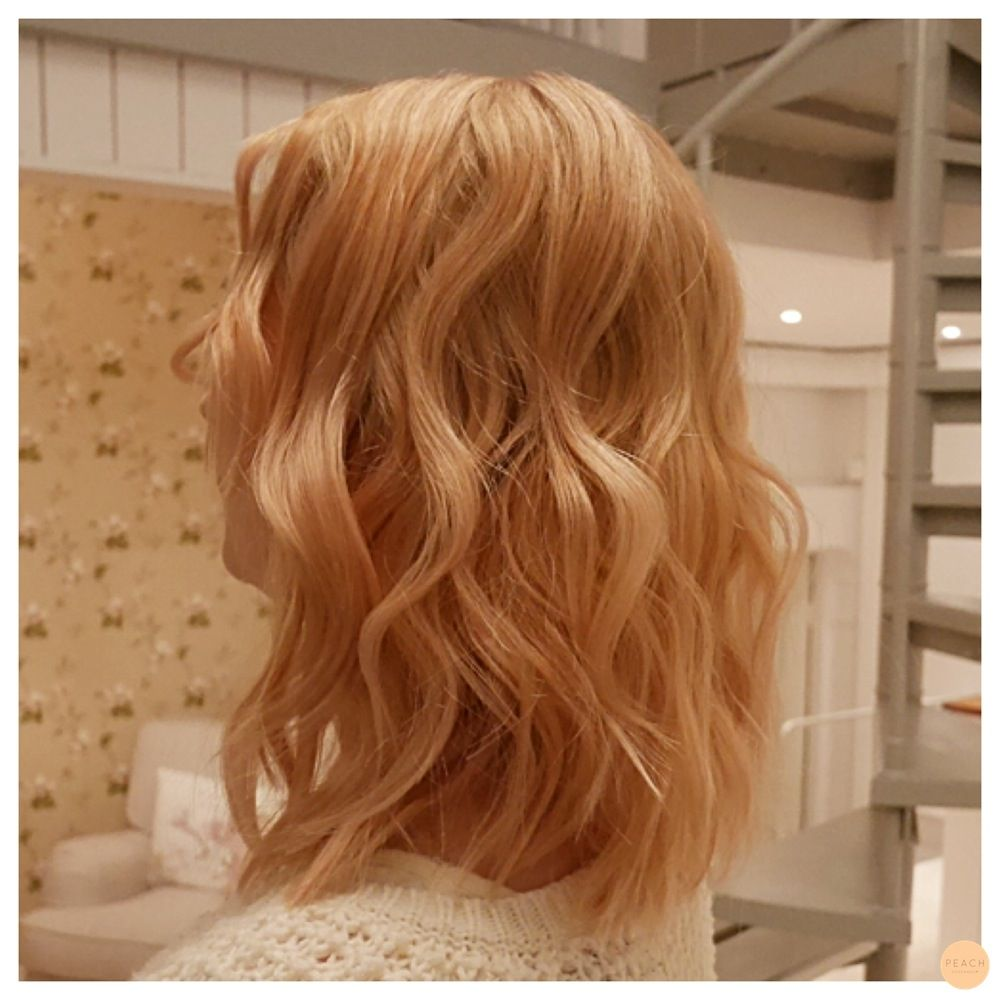 Light Copper Blonde More Awesome Design