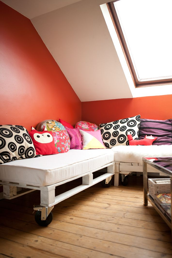 diy tape 2 2 mon canap en palette canapes pallets and deco furniture. Black Bedroom Furniture Sets. Home Design Ideas