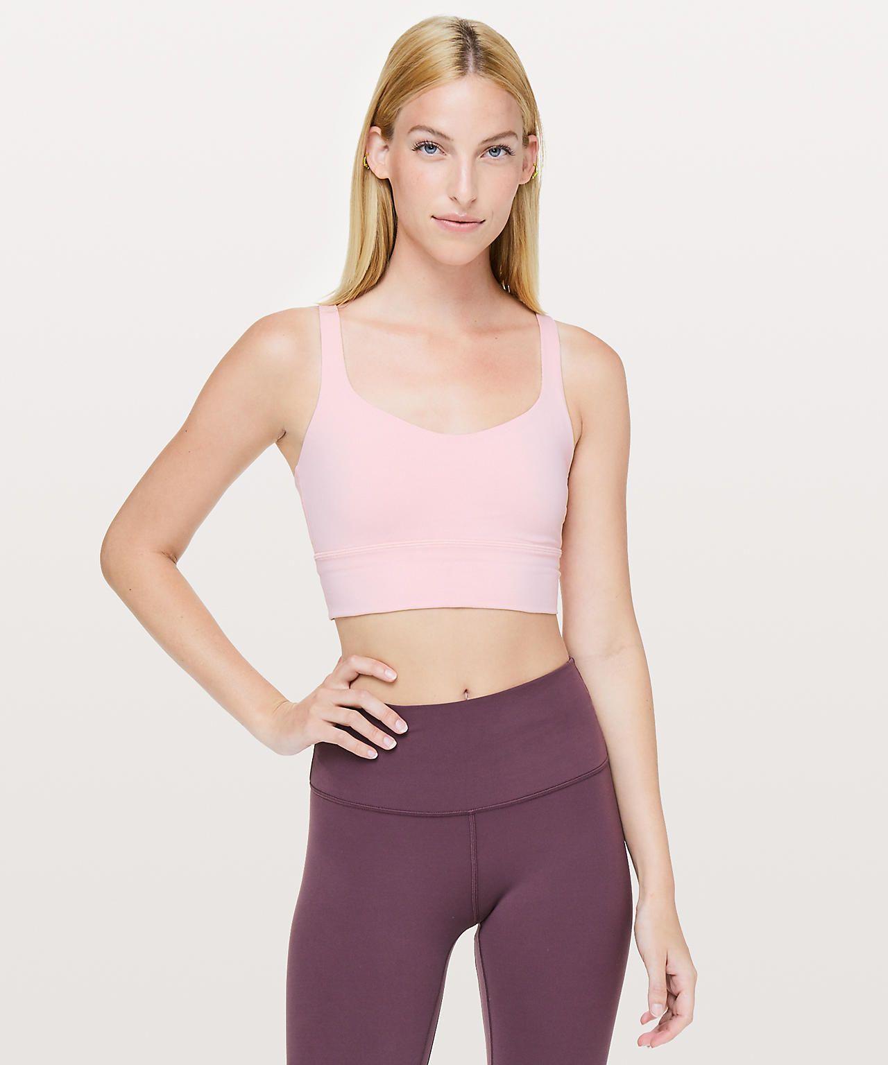 Dusty Pink Sports bra, Women's sports bras, Bra