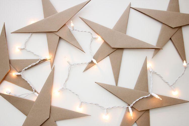 Almost Origami Stars