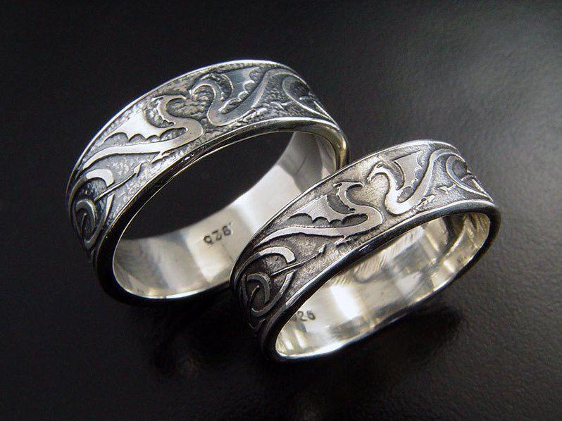 Celtic Wedding Ring For Him And Her CELTIC IRISH Pinterest