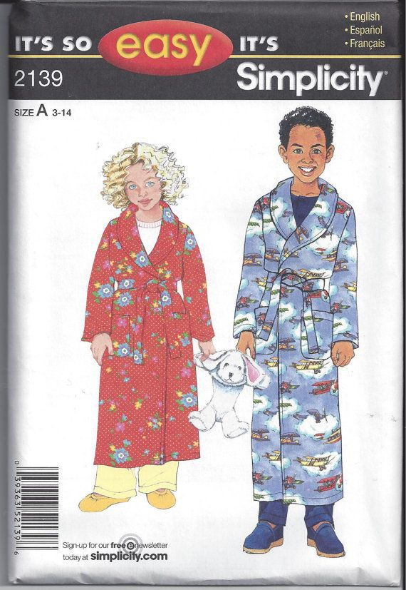 Simplicity 2139 Its So Easy Pattern For By Victorianwardrobe 150