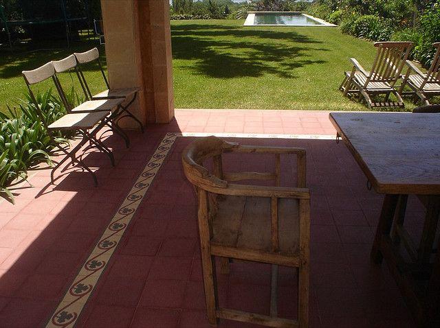 Piso colonial y calcareo pisos pinterest pisos for Pisos galerias exteriores