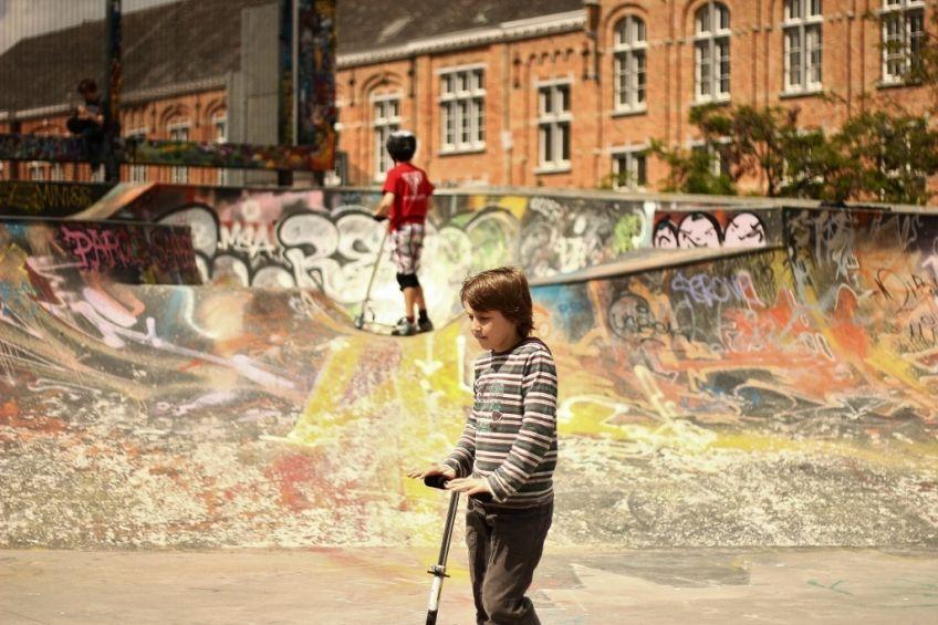 Skate Park des Ursulines, Brussels