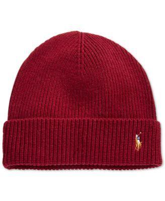 POLO RALPH LAUREN Polo Ralph Lauren Signature Merino Cuffed Beanie.   poloralphlauren   hats e51e28f70390