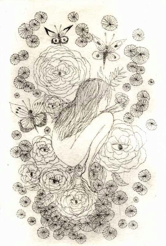 Gravure Eau forte Cosmogonie Valérie Belmokhtar - Etching, Prints