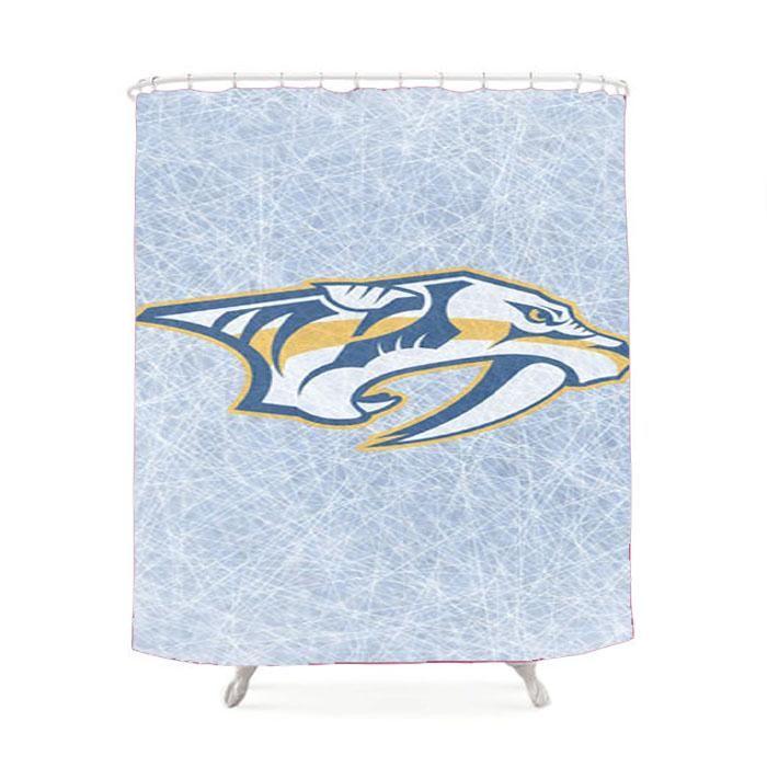 Nashville Predators Nhl Hockey Shower Curtain Predator Kids