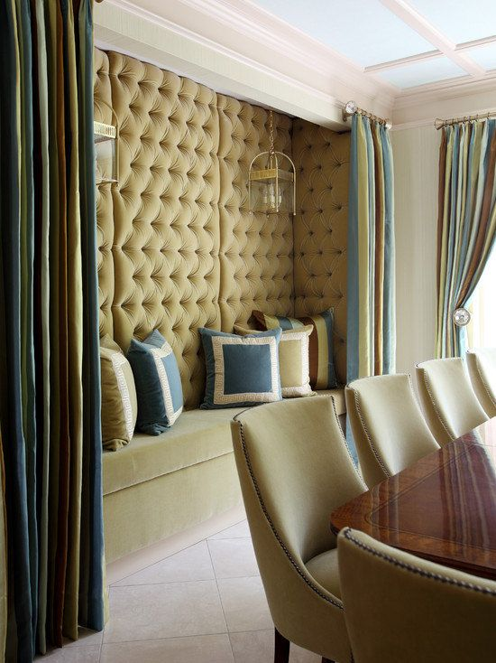 Divine and glamorous velvet wall panels for your home. Fabric cost ...