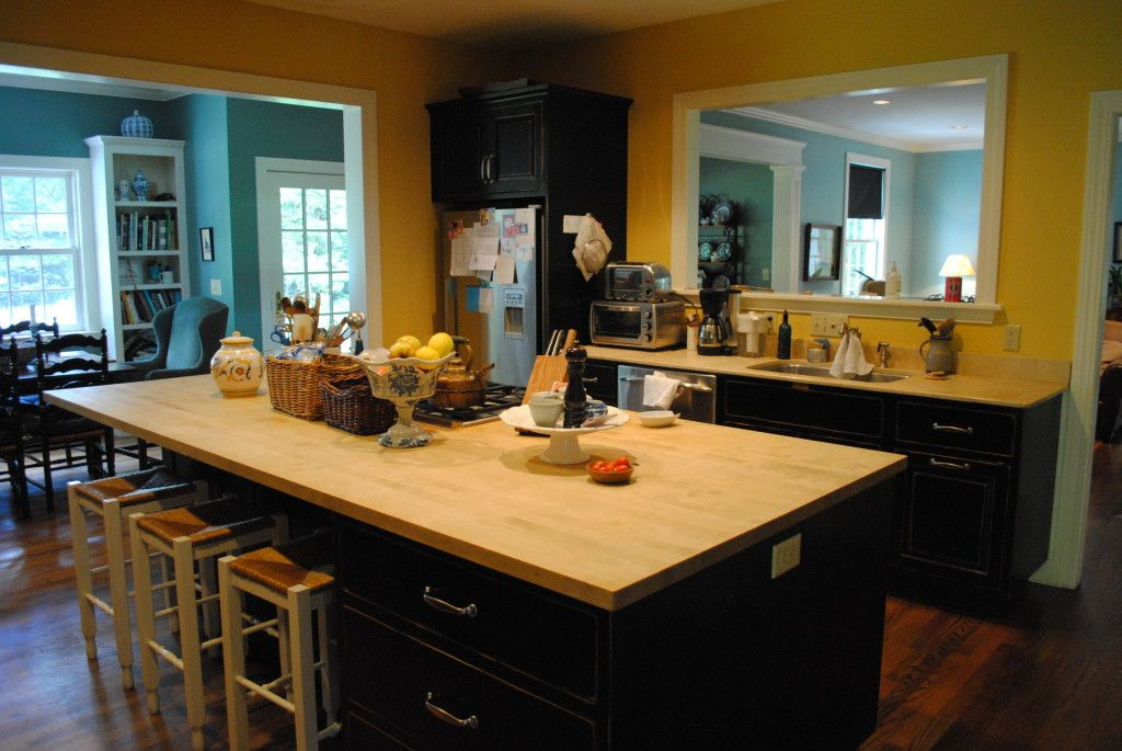 How To Stain and Seal Butcher Block Counters The