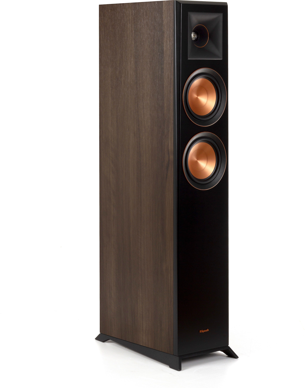 Klipsch Reference Premiere Rp 5000f Walnut Floor Standing Speaker Floor Standing Speakers Headphone Amp Flooring