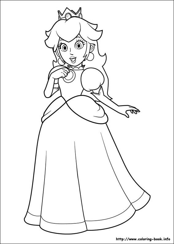 Super Mario Bros. coloring picture | All for Kids | Pinterest ...