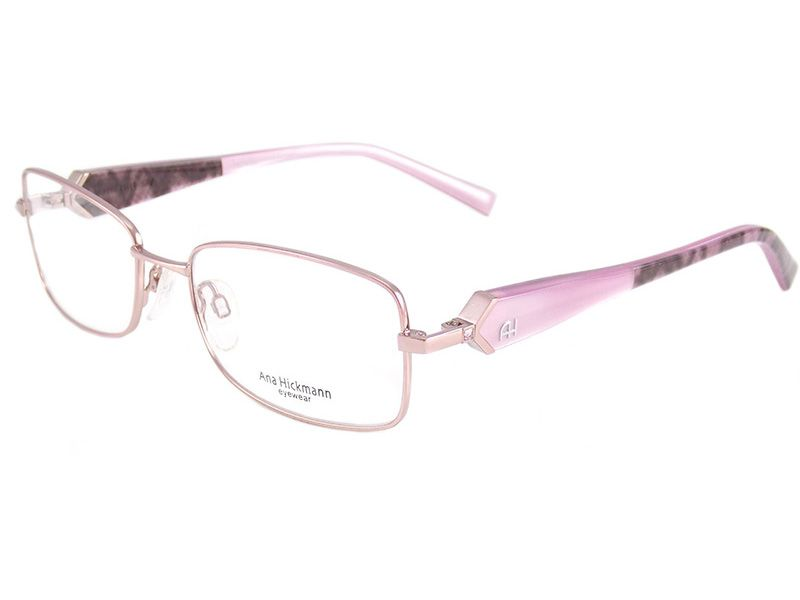 Oculos De Grau Feminino Ana Hickmann Ah1172 05b Tam 55 Cat Eye