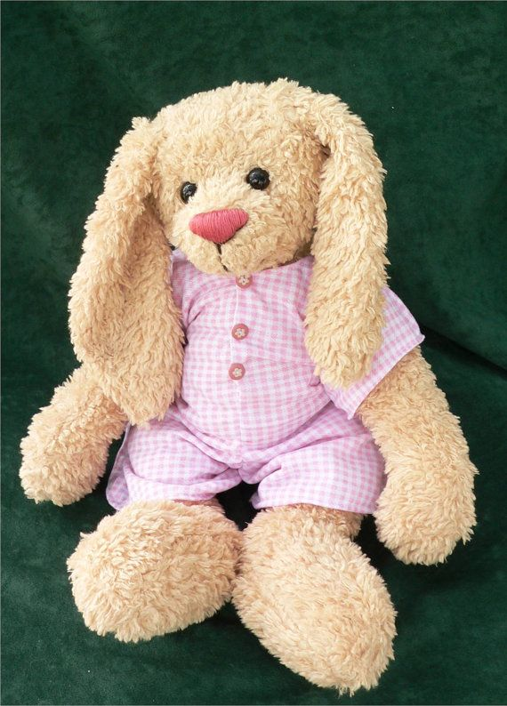 Teddy Bear Rabbit PDF Sewing Pattern - Rowena | Häkeln