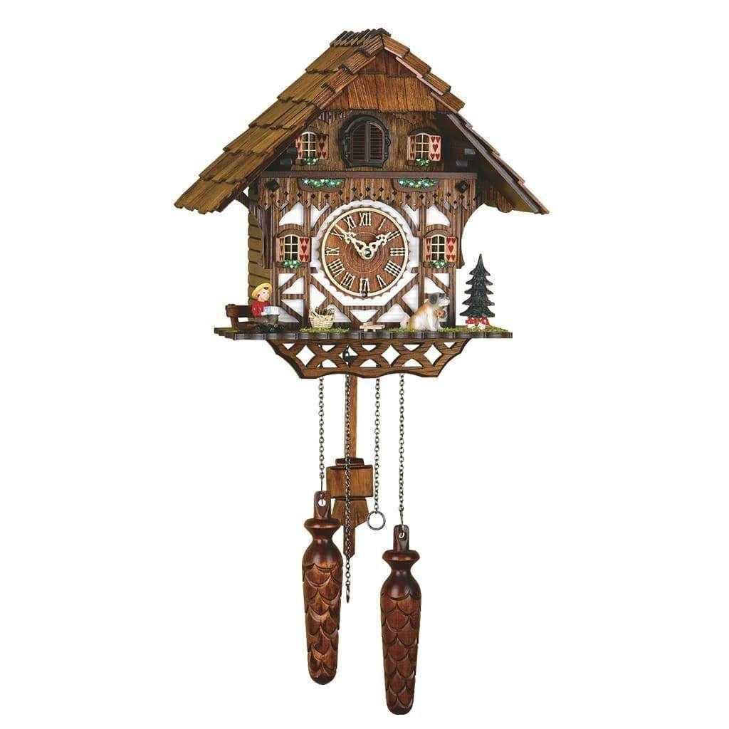 Hermle Triberg Black Forest Cuckoo Clock Model 42000 Cuckoo