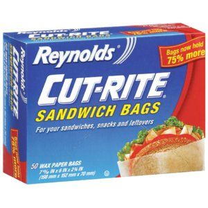 Reynolds® Cut-Rite® Sandwich Bags. Perfect for lunches.
