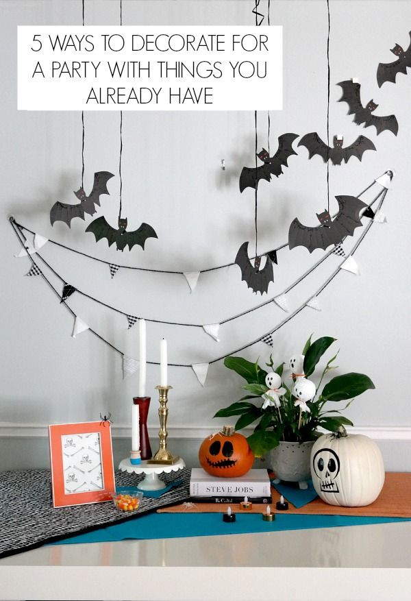 Halloween party ideas Halloween parties, DIY Halloween and - ways to decorate for halloween